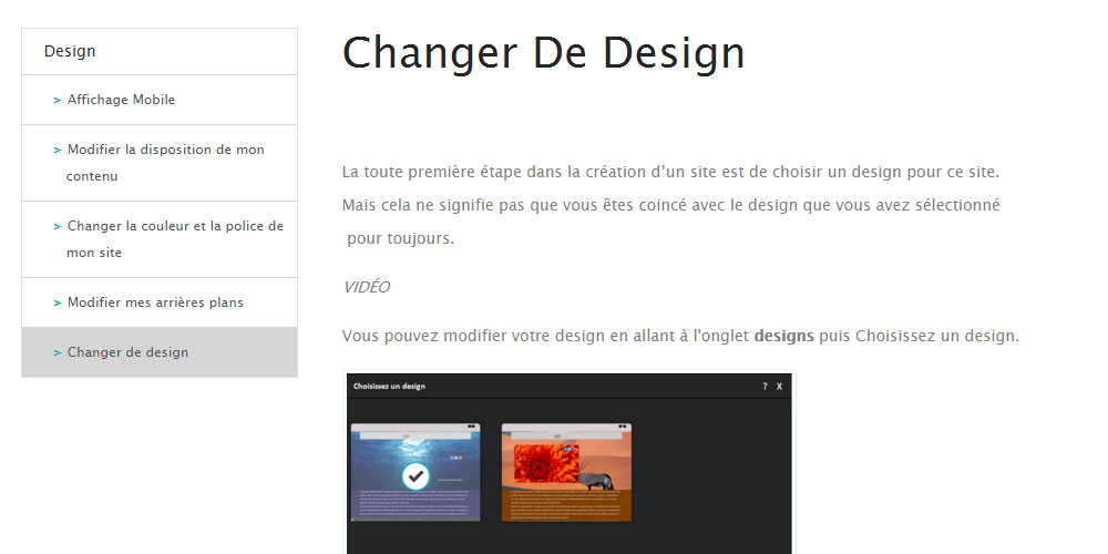 design webself